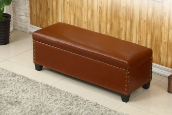 Sex Doll Brown Storage Couch