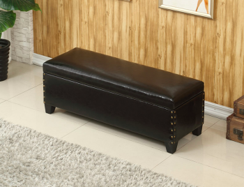 Sex Doll Black Storage Couch