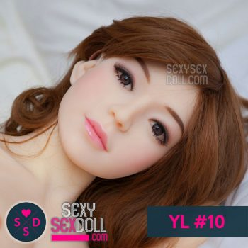 YL sex doll head #10-Shu