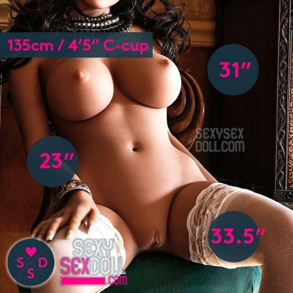 YL sex doll 135cm C-cup body