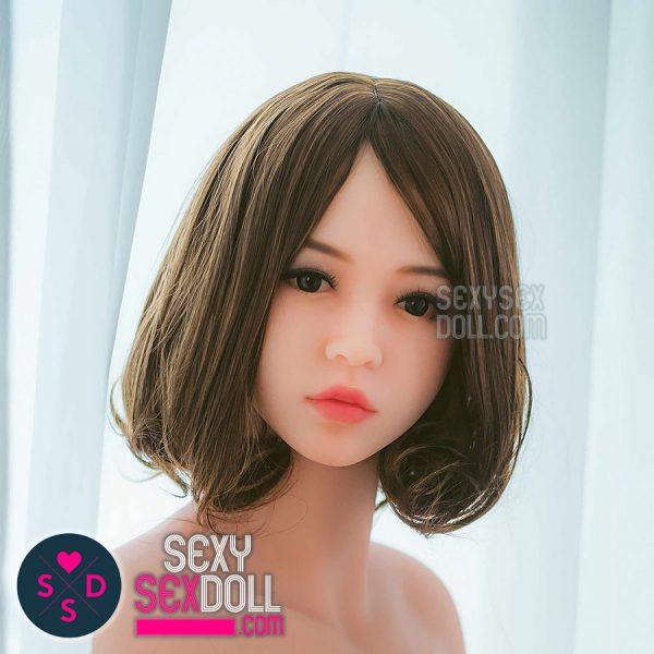 Short Dark Brown Wig-WM #10