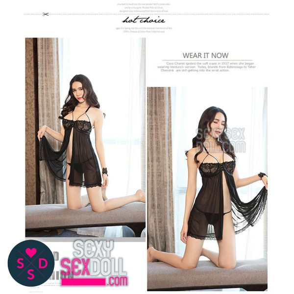 Sling Black Nightwear