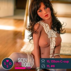 YL 135cm C-cup + Head YL #8 Julie Life size love doll