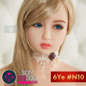 6Ye Cute Sex Doll Head #N10 - Olga
