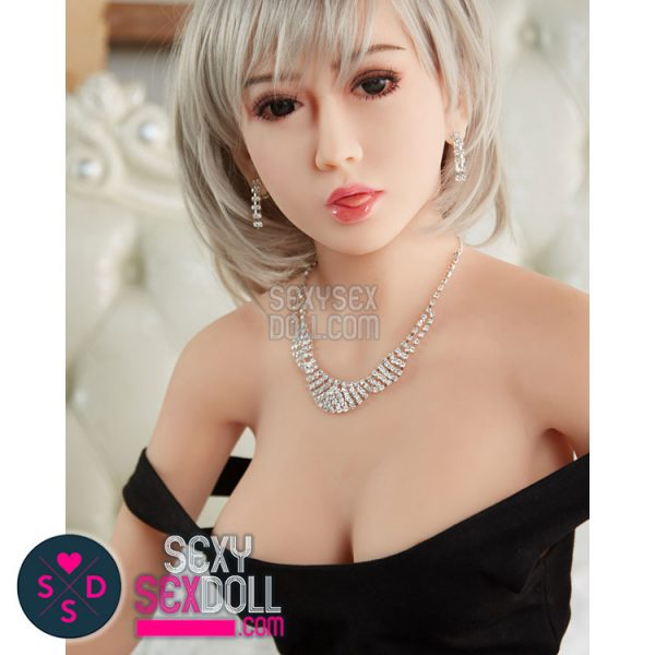 6YE Noble Lady Sex Doll Head - Realistic Korean Min Ji