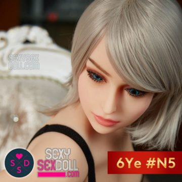 European Sex Doll Head - 6Ye #N5 Caucasian Rebecca