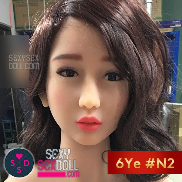 6YE Love Doll Head #N2- Realistic Chinese Kathy