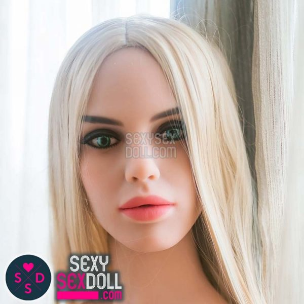 caucasian sex doll head