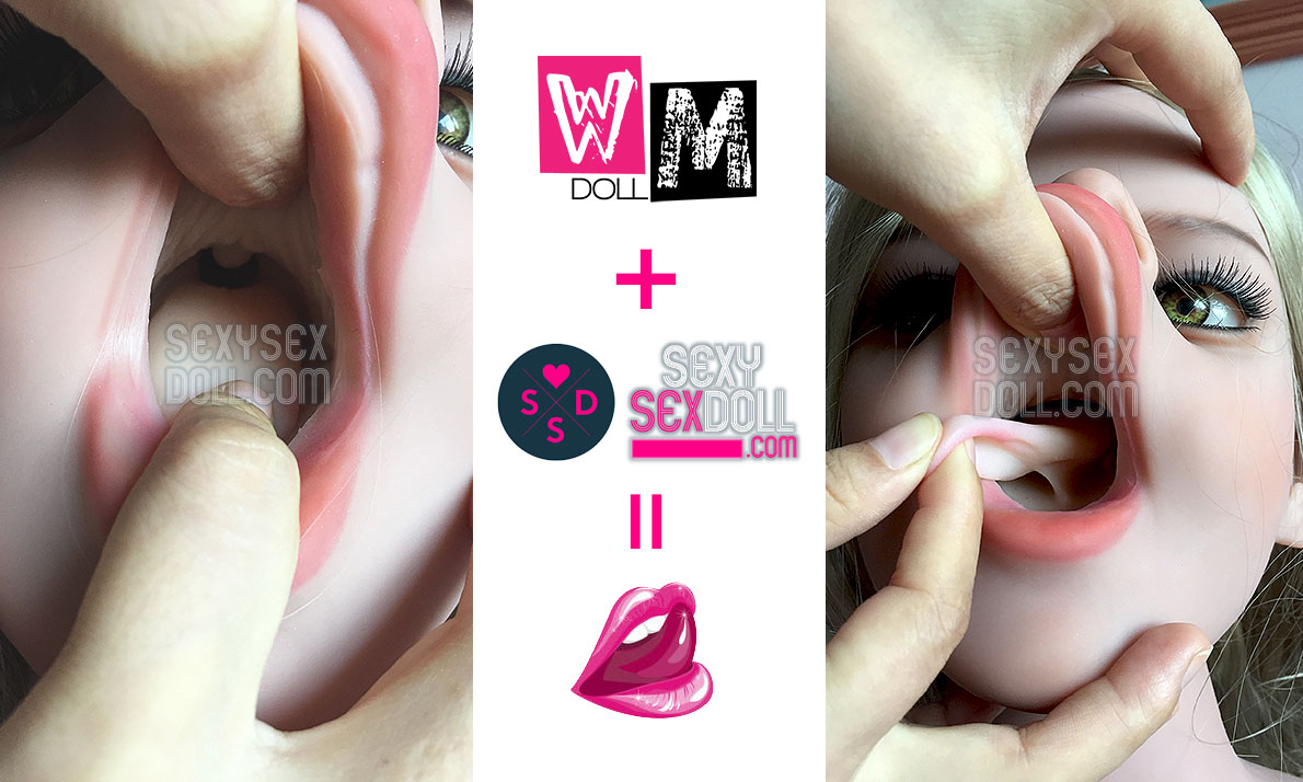 Realistic Sex Doll Tongue for WM Dolls