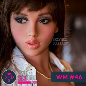 WM Sex Doll Head #46-Mandy