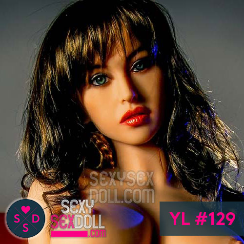 YL Sexy Sex Doll Head #129 Cecilia