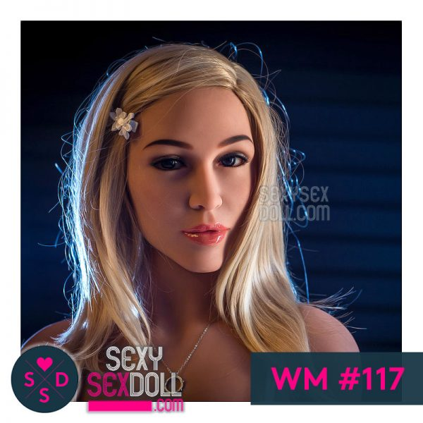 WM Sex Doll Head #117 August