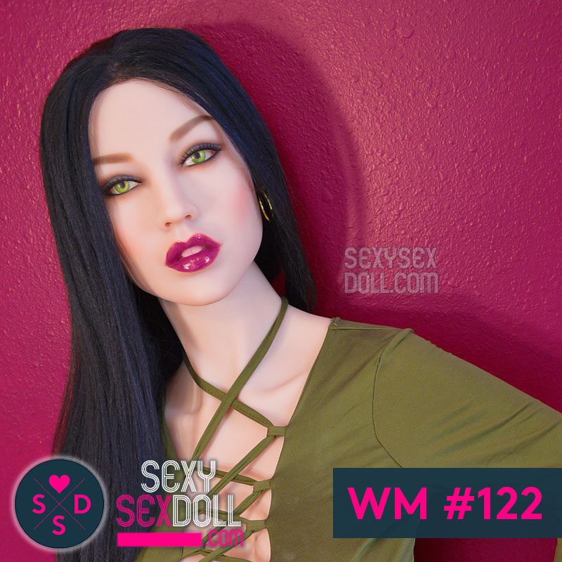WM Slutty Sex Doll Head #122 Tania