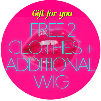 SSD FREE WIG AND CLOTHES PROMOTION
