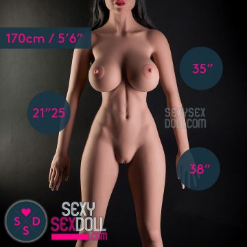 WM 170cm (5ft 7in) Tall H-Cup Body