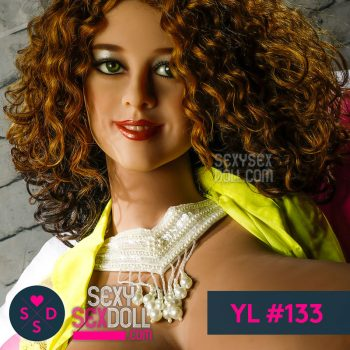YL sex doll head #133-Sunny