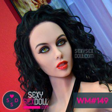 WM Caucasian Sex Doll head 149 Mia