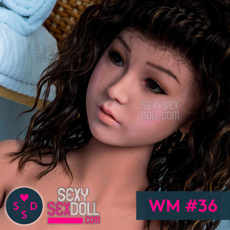 WM Sex Doll Head #36