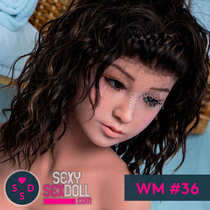 WM Sex Doll Head #36