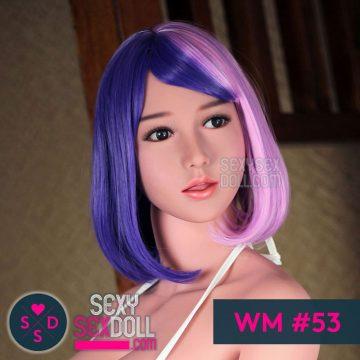 WM Cosplay Sex Doll Head #53 Midori