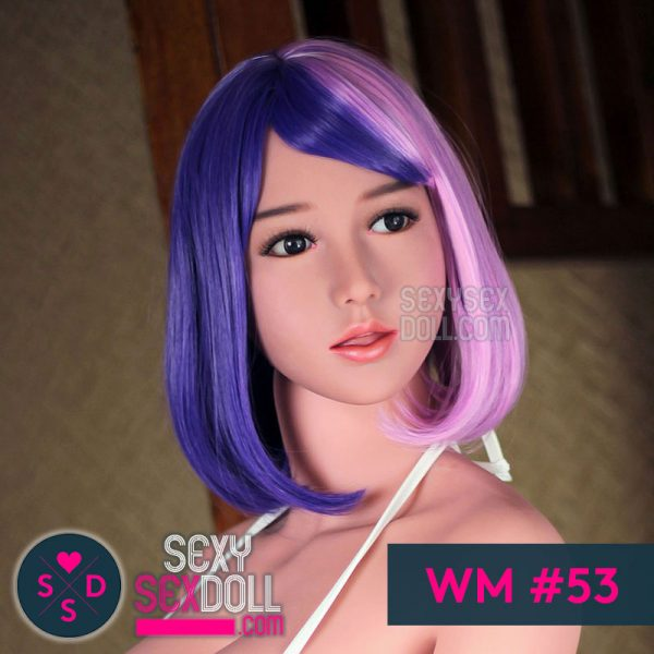 WM Cosplay Sex Doll Head #53 Midori