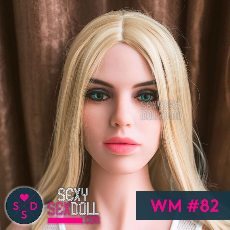 WM WHite Doll Head #82 Hannah
