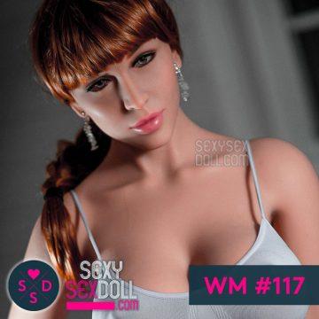 WM transgender Doll Head #117 August
