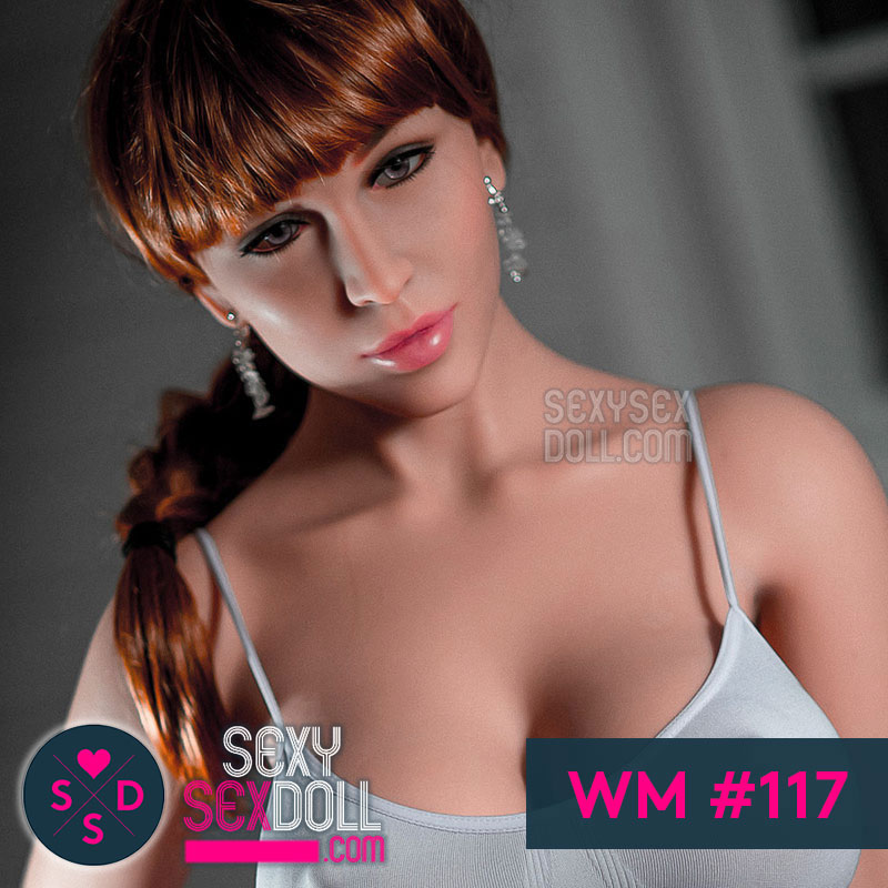 WM transgender Doll Head #117 August