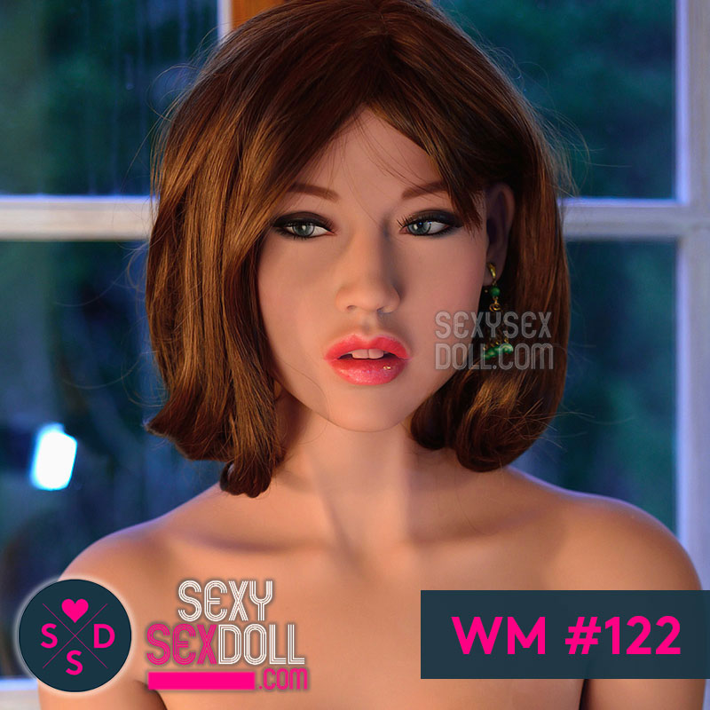 WM Mature Asian Sex Doll Head #122-Cynthia