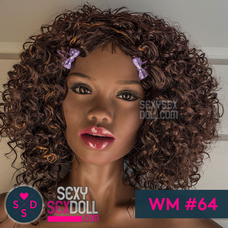 WM Black Sex Doll Head #64-Tiffany