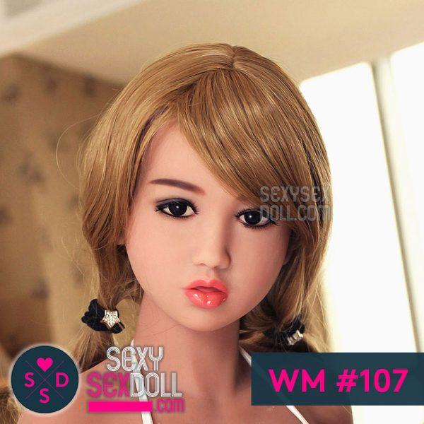 WM #107 Cute sex doll head