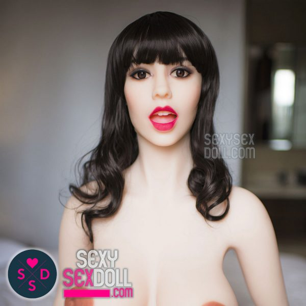 WM Sex Doll Head #130 - Mouth Opened Janice