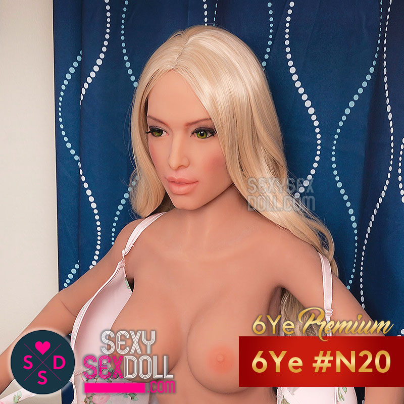 6YE Head #N20 6Ye mature caucasian sex doll head