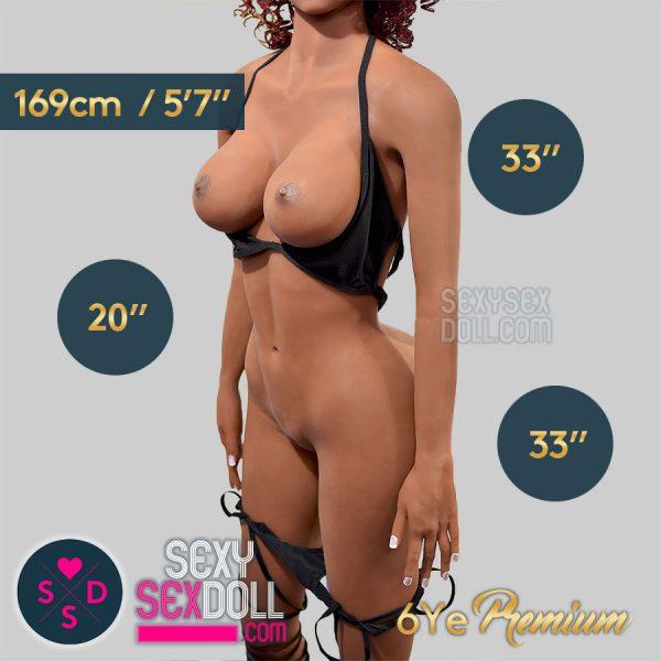 169cm C-cup Premium sex doll body-cover