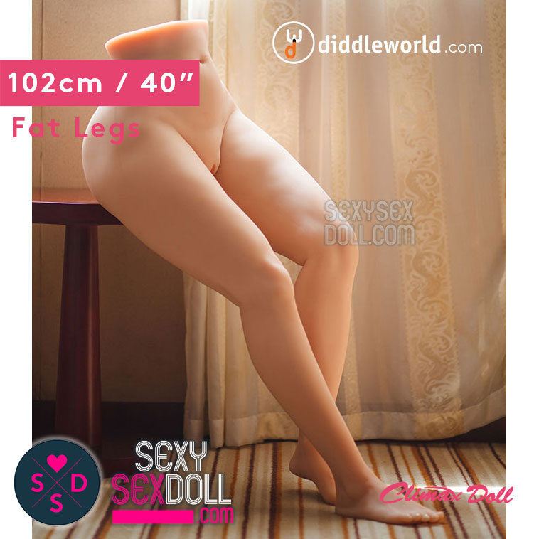 Silicone lower torso sex doll