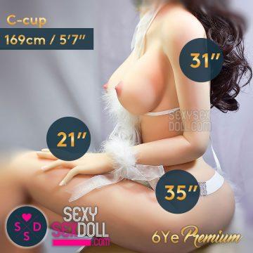 6Ye 169cm C-cup premium body by SexySexDoll.com