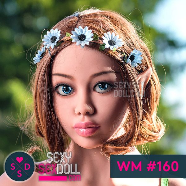 WM elf Sex Doll Head #160-Elf Ayla