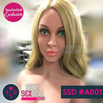 SSD Scandinavian Sex Doll Head #A001
