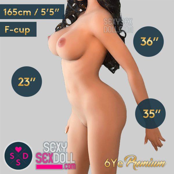 6Ye 165cm F-cup Premium busty sex doll body
