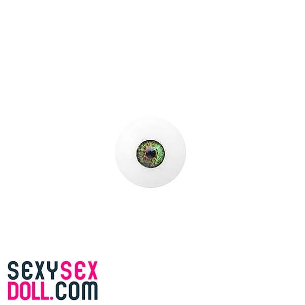 TPEドール用瞳-グリーン