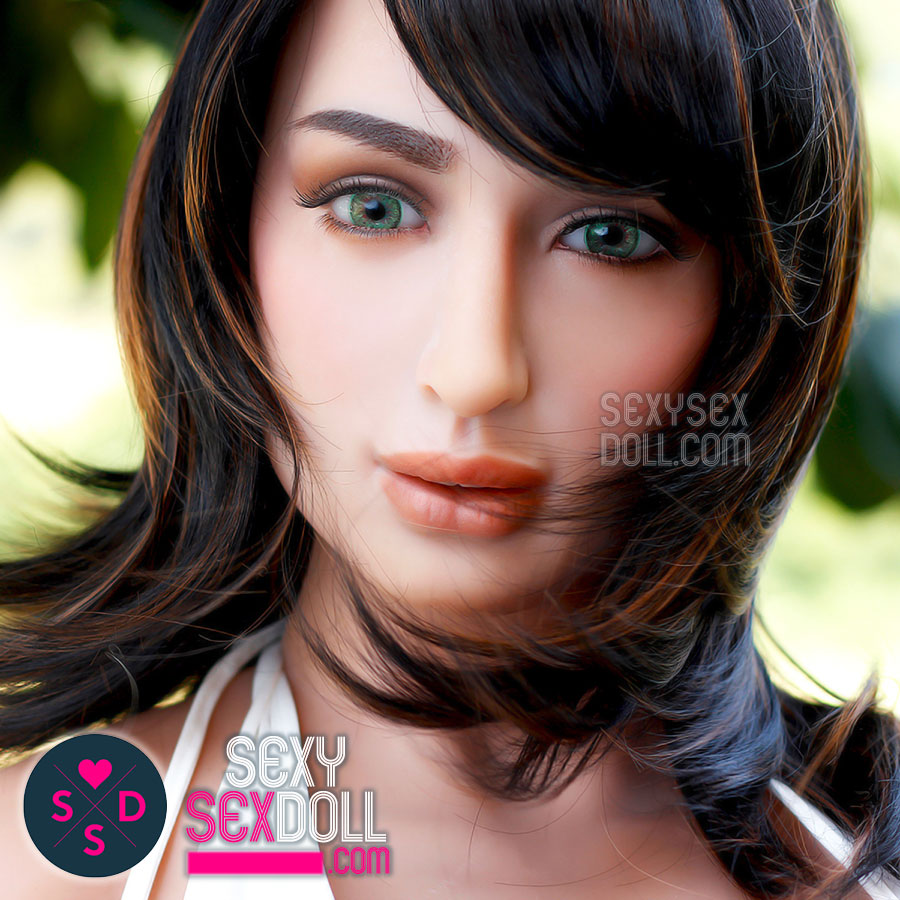 Z-One Silicone Eurasian Sex Doll - Busty Ananya 151cm with head #46