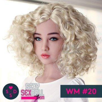 WMラブドールの頭部 #20 佐恵子