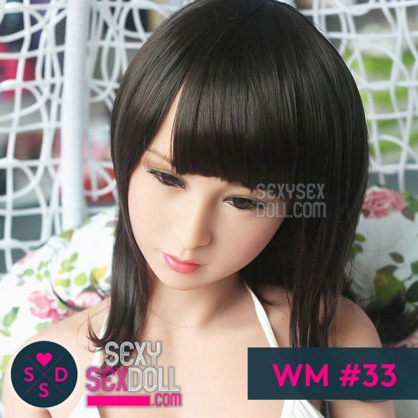 WMラブドールの頭部 #33 聡子