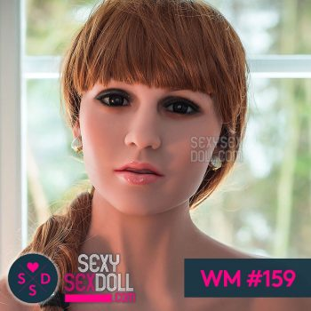 WM sex doll head #159 Fatima