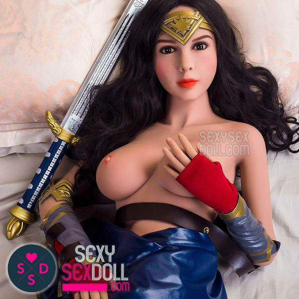 WM 165cm D-cup sex doll head 74