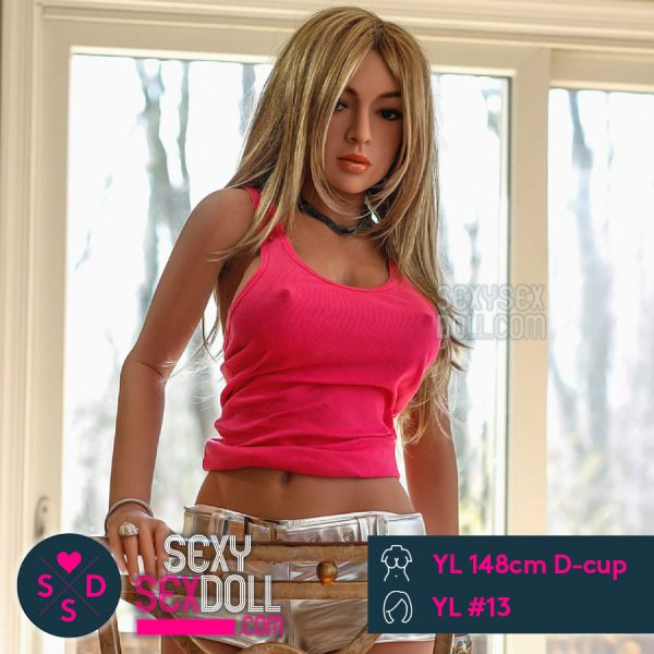 現実的なセックスドール YL製148cm D-cup + YL ヘッド #13 ジェニー