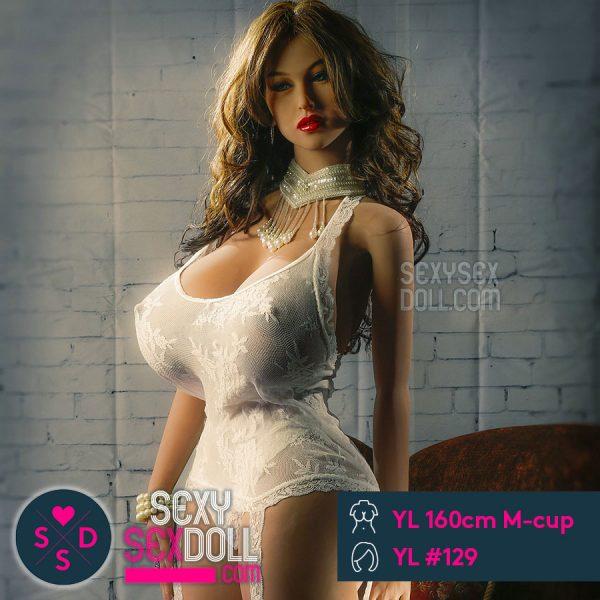 外国人美女 ドール YL製160cm M-cup + YL ヘッド #129 セシリア