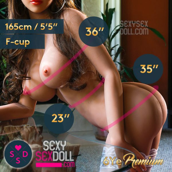 6YE 165cm F cup Busty Sex Doll Body, Choose A Face to Match!