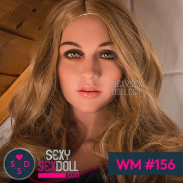 German Real Doll Head WM #156 - Sporty Marlene