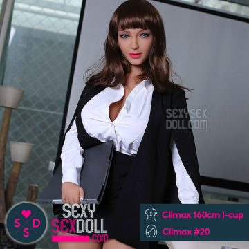 Secretary Sex Doll 160cm I-cup head Chubby Cloris